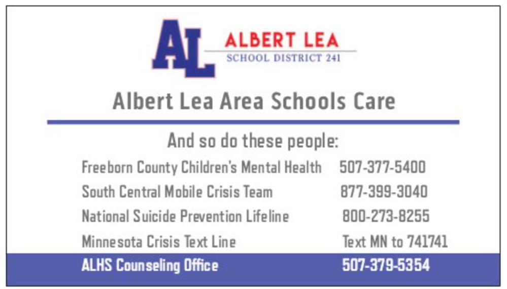 Albert Lea Area Schools Care